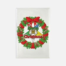 OES Wreath Rectangle Magnet (10 pack)