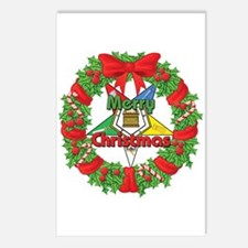 OES Wreath Postcards (Package of 8)