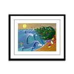 Santa Ana Winds Framed Panel Print