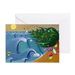 Santa Ana Winds Greeting Card