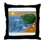Santa Ana Winds Throw Pillow