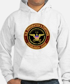 IMMIGRATION and CUSTOMS ICE: Hoodie