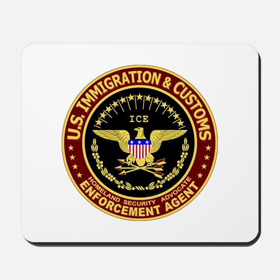 IMMIGRATION and CUSTOMS ICE:  Mousepad