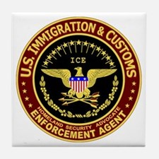 IMMIGRATION and CUSTOMS ICE: Tile Coaster