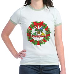 OES Christmas Wreath T