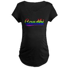 Gandhi, Rainbow, T-Shirt