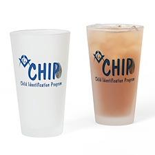 Masonic CHIP Drinking Glass