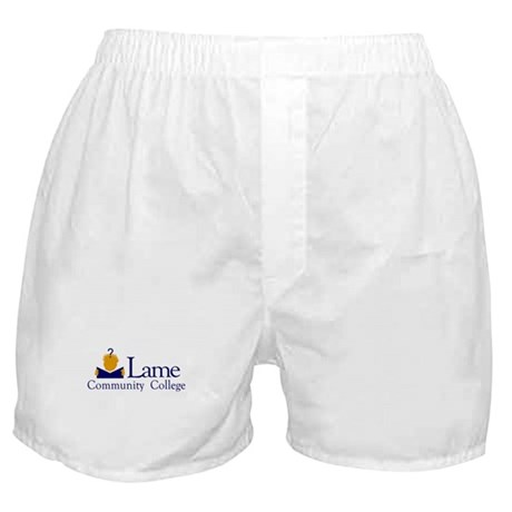 Lame Community College Boxer Shorts
