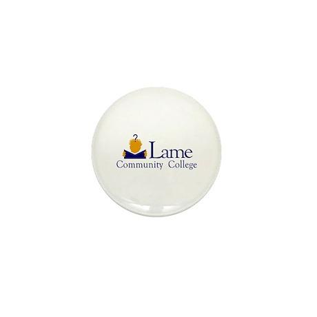 Lame Community College Mini Button (10 pack)