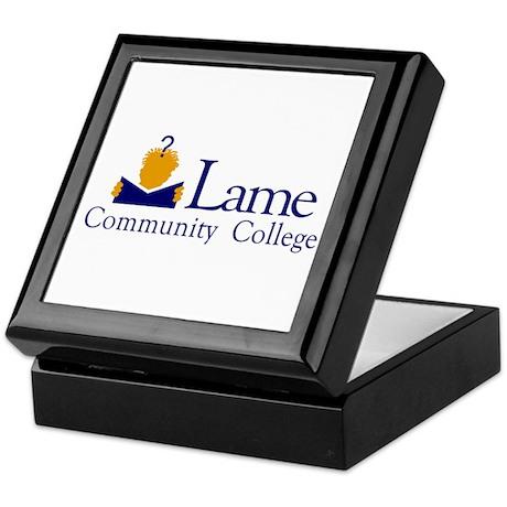 Lame Community College Keepsake Box