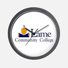 Lame Community College Wall Clock