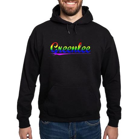 Greenlee, Rainbow, Hoodie (dark)