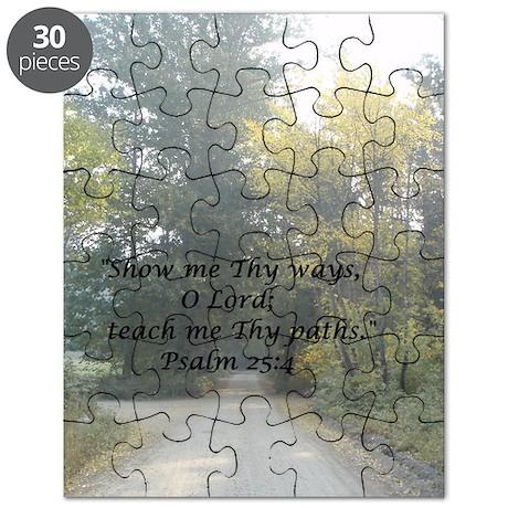 Show Me Thy Ways Puzzle