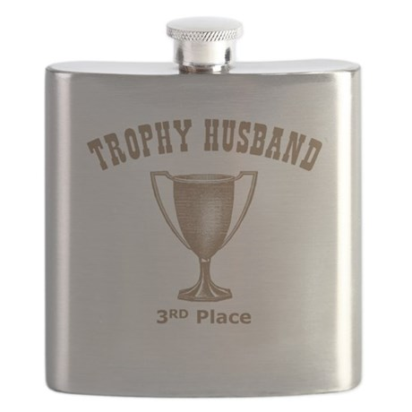 Trophy Husband 3rd Place Flask