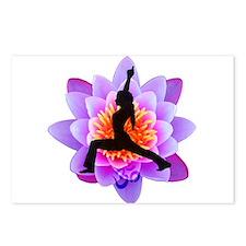 Lotus Yogini Postcards (Package of 8)