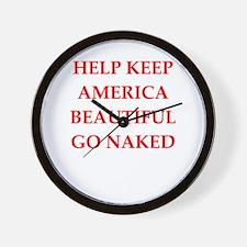 keep america Wall Clock