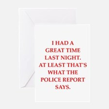 great time Greeting Card