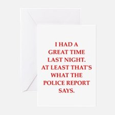 great time Greeting Cards (Pk of 10)