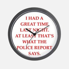 great time Wall Clock