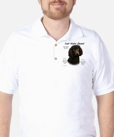 Irish Water Spaniel Golf Shirt