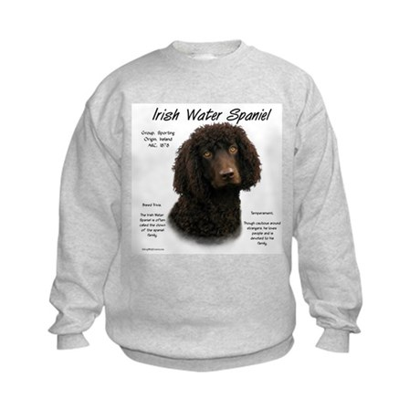 Irish Water Spaniel Kids Sweatshirt