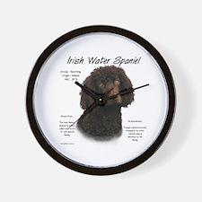 Irish Water Spaniel Wall Clock