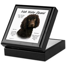 Irish Water Spaniel Keepsake Box