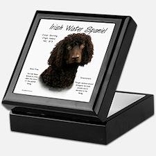 Irish Water Spaniel Keepsake Box