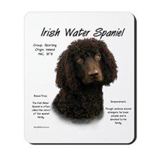 Irish Water Spaniel Mousepad
