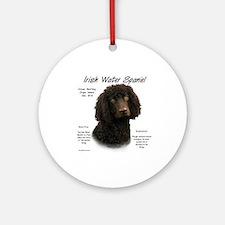 Irish Water Spaniel Ornament (Round)