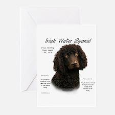 Irish Water Spaniel Greeting Cards (Pk of 10)