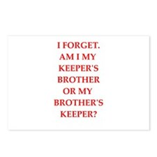 brother;s jeeper Postcards (Package of 8)
