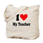 I heart my Teacher Tote Bag