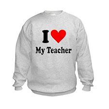 I heart my Teacher Sweatshirt