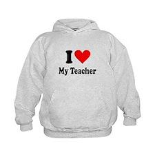 I heart my teacher Hoodie