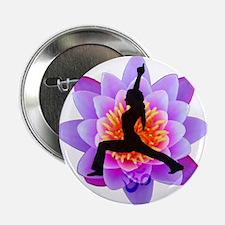 Lotus Yogini Button