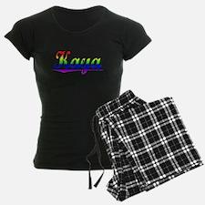 Kaya, Rainbow, Pajamas
