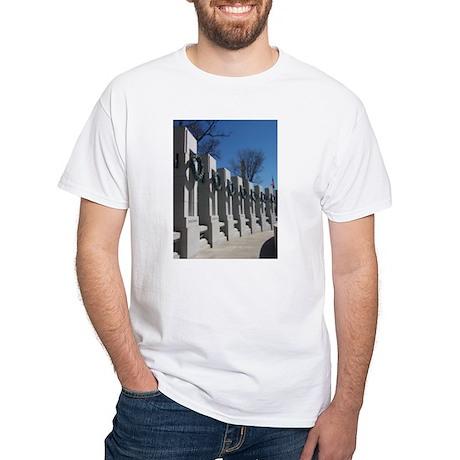 World War II Memorial White T-Shirt