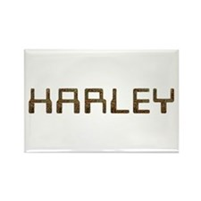 Harley Circuit Rectangle Magnet