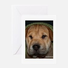 Happy Tails 1 Greeting Cards