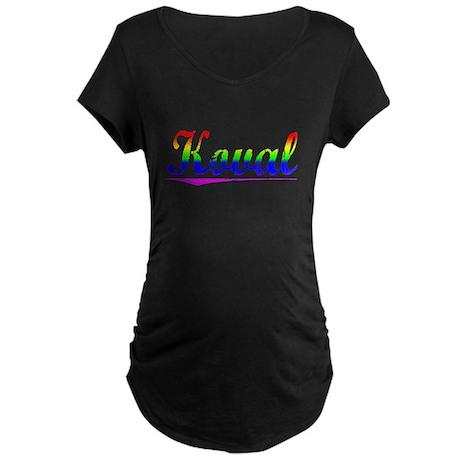 Koval, Rainbow, Maternity Dark T-Shirt