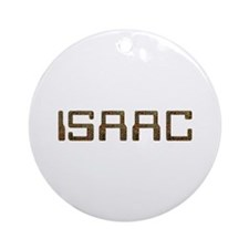 Isaac Circuit Round Ornament