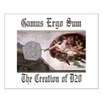 The Creation of D20 Small Poster