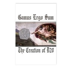 The Creation of D20 Postcards (Package of 8)