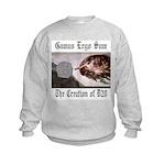 The Creation of D20 Kids Sweatshirt