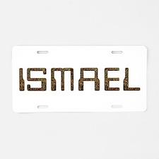 Ismael Circuit Aluminum License Plate