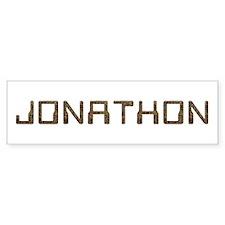 Jonathon Circuit Bumper Bumper Sticker