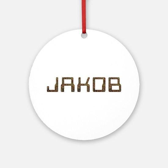 Jakob Circuit Round Ornament