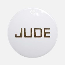 Jude Circuit Round Ornament