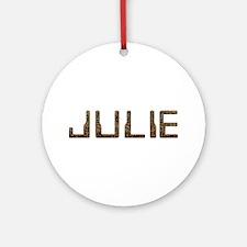 Julie Circuit Round Ornament